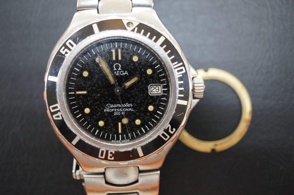 No.736  OMEGA Seamaster (シーマスター) 自動巻き腕時計を修理しました
