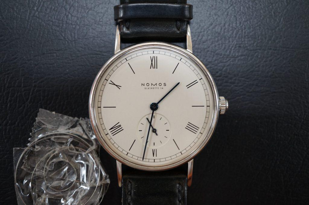 No.742   NOMOS (ノモス) 自動巻き腕時計を修理しました