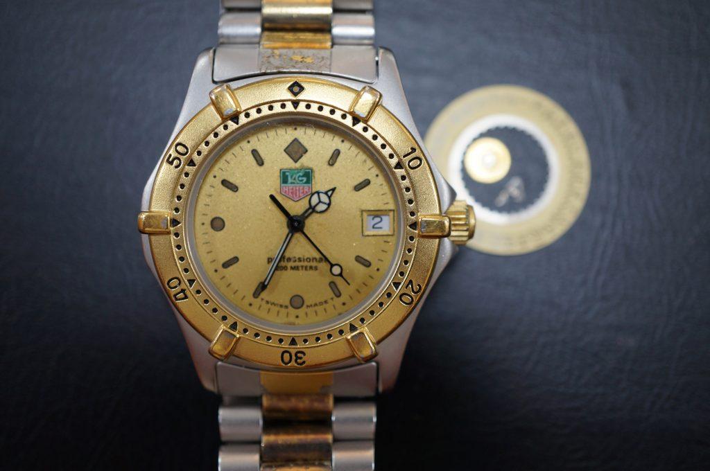 No.743   TAG HEUER (タグホイヤー) クォーツ腕時計を修理しました