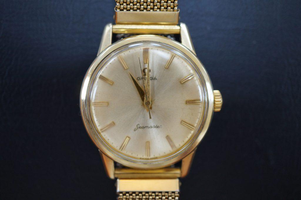 No.745  OMEGA Seamaster (シーマスター) 手巻き腕時計を修理しました