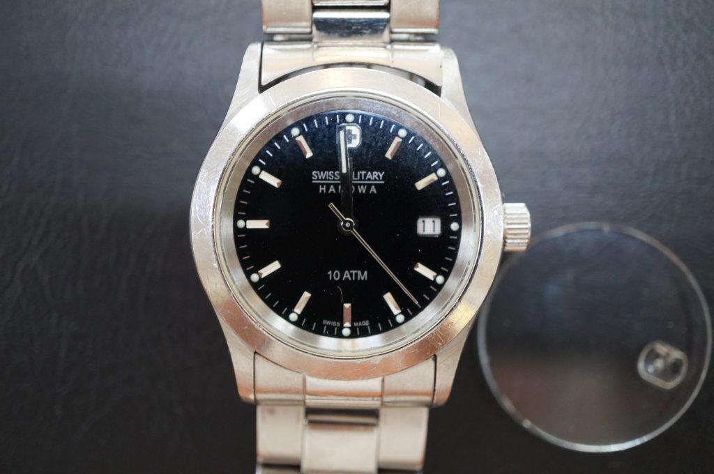 No.744   SWISS MILITARY (スイスミリタリー) 自動巻き腕時計を修理しました