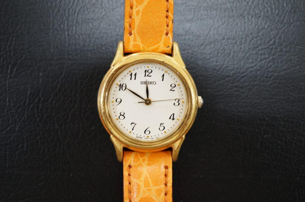 No.749  SEIKO   (セイコー) クォーツ腕時計を修理しました