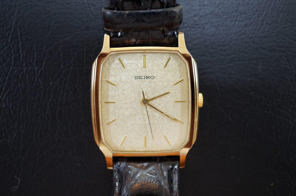 No.762  SEIKO   (セイコー) クォーツ腕時計を修理しました