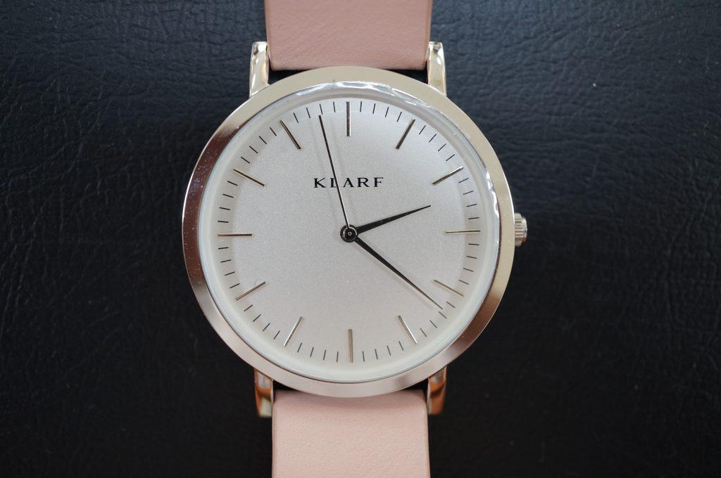 No.760  KLARF (クラーフ)  クォーツ腕時計を修理しました