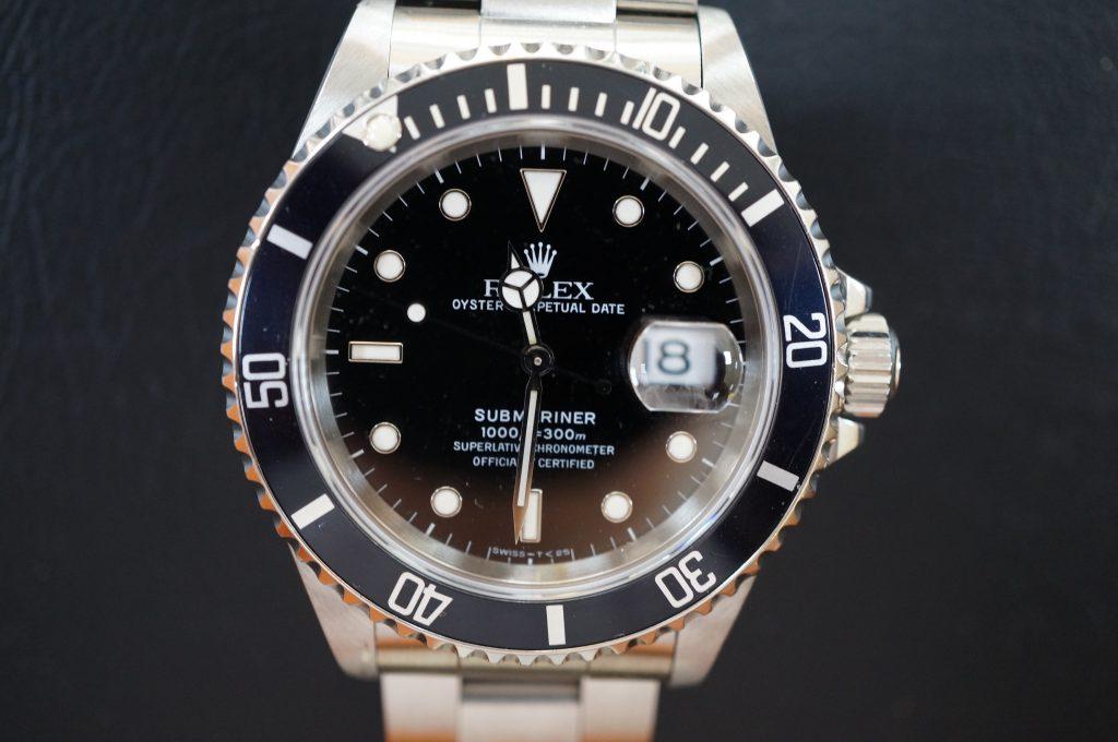 No.759  ROLEX (ロレックス サブマリーナデイト) 自動巻き腕時計を修理しました