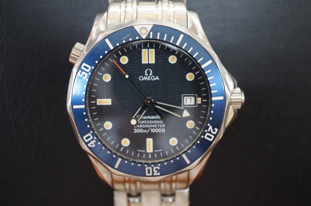 No.758  OMEGA Seamaster (シーマスター) 自動巻き腕時計を修理しました
