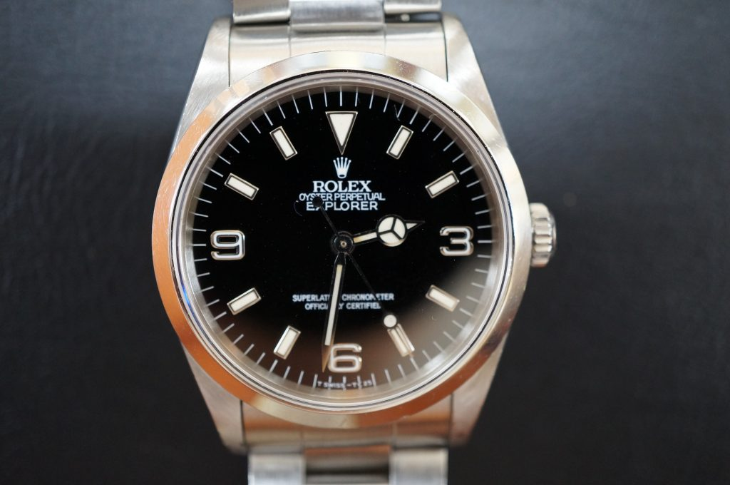 No.754  ROLEX (ロレックス エクスクローラ1) 自動巻き腕時計を修理しました