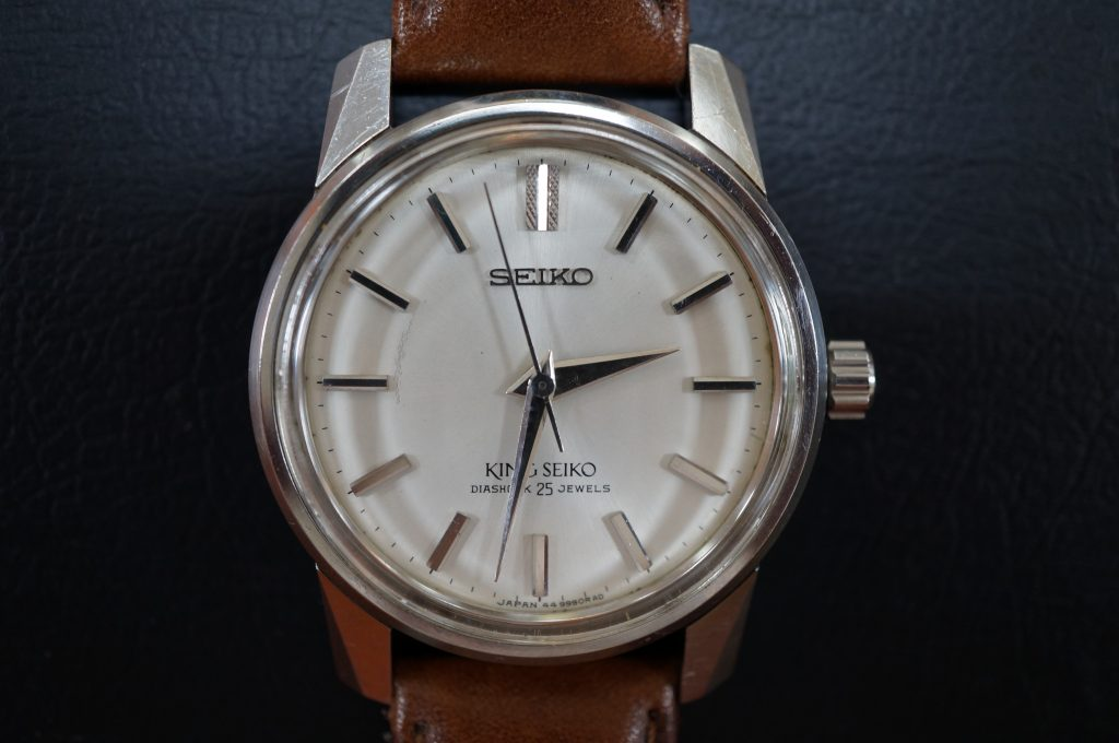 No.753  SEIKO KS  (キングセイコー) 自動巻き腕時計を修理しました