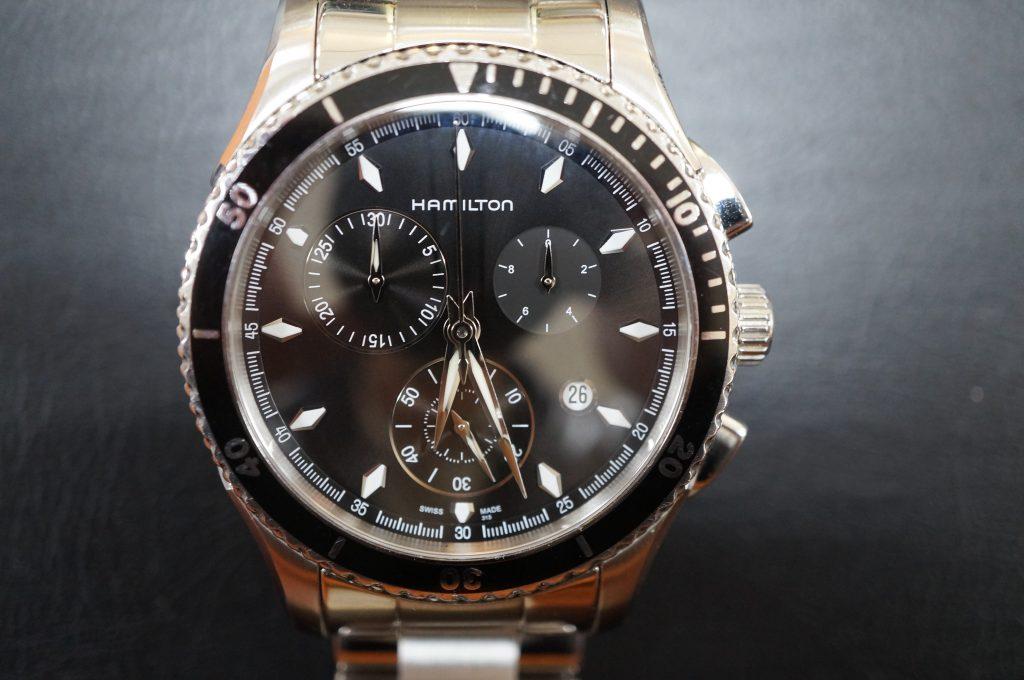 No.779  HAMILTON (ハミルトン) クォーツ腕時計を修理しました