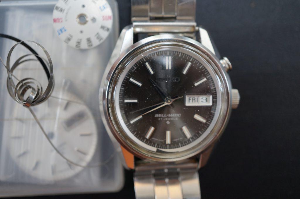 No.777  SEIKO   (セイコー) 自動巻き腕時計を修理しました