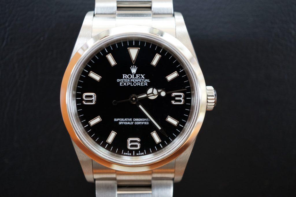 No.773  ROLEX (ロレックス エクスクローラ1) 自動巻き腕時計を修理しました