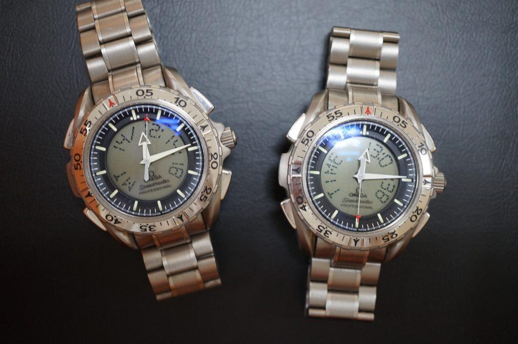 No.767  OMEGA  (スピードマスター) クォーツ腕時計を修理しました