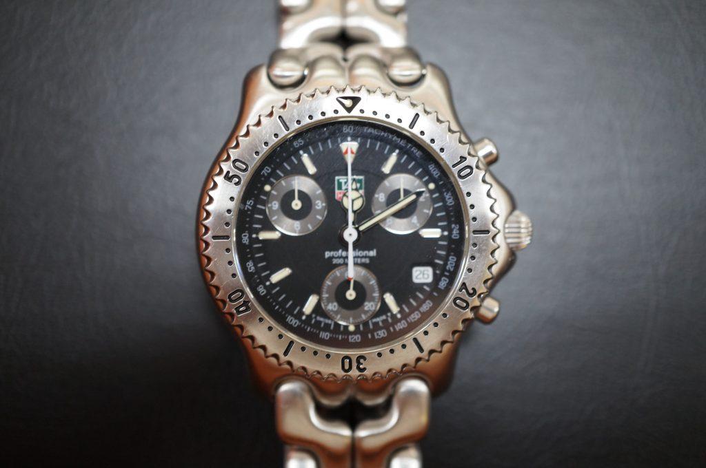 No.766  TAG HEUER (タグホイヤー) クォーツ腕時計を修理しました