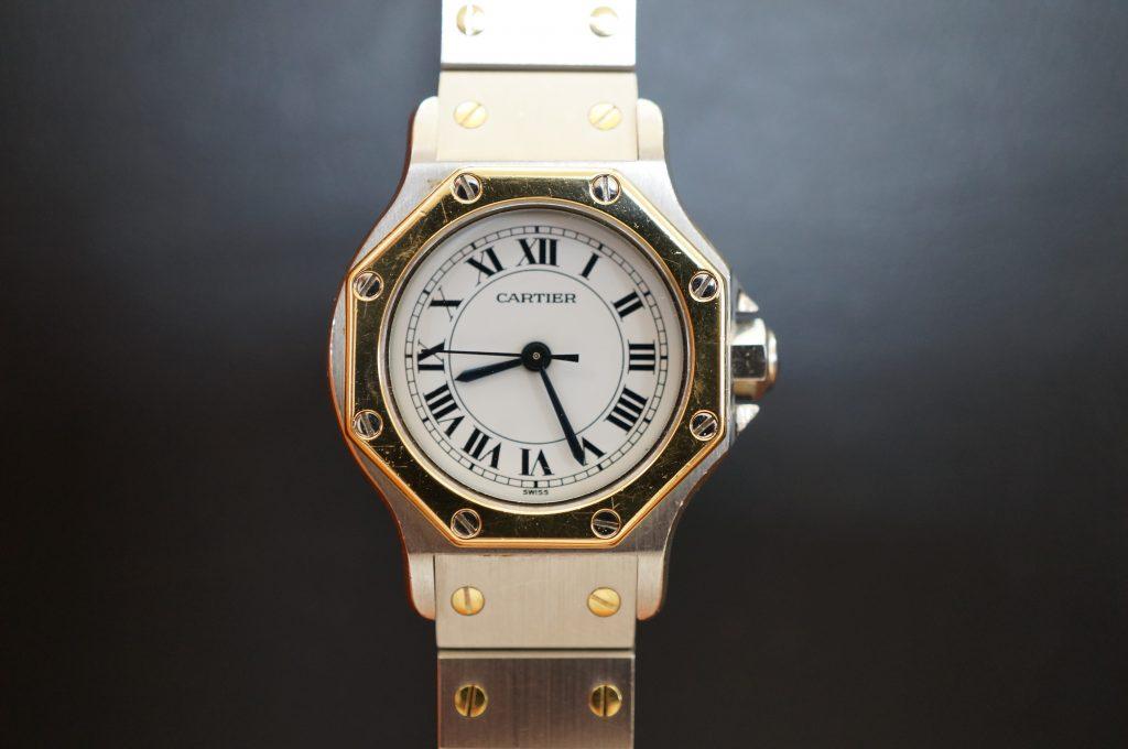 No.765  CARTER (カルティエ ) 自動巻き腕時計を修理しました