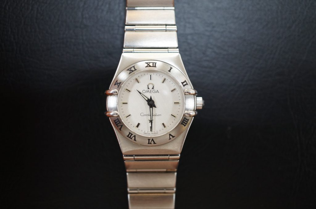 No.763  OMEGA  (コンステレーション) クォーツ腕時計を修理しました