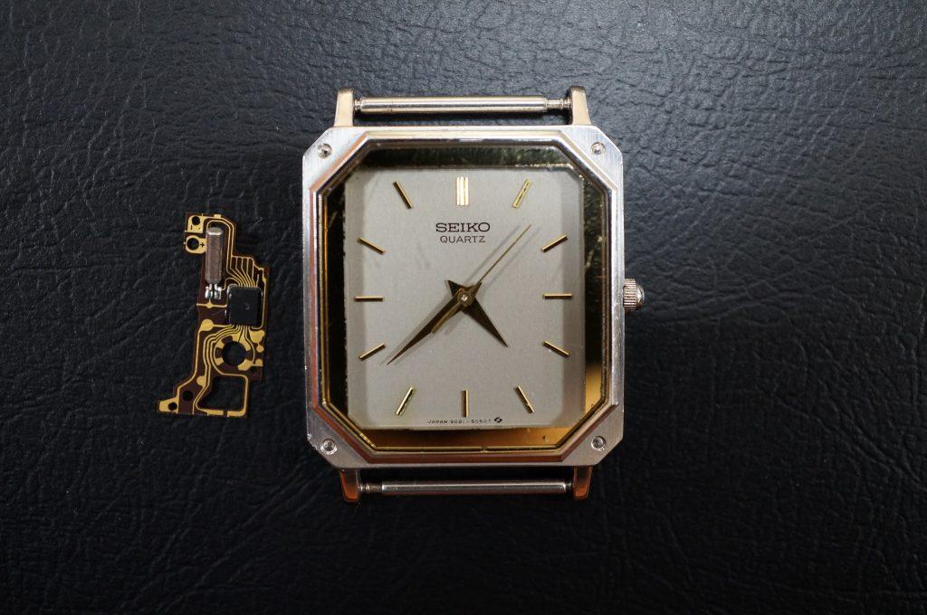 No.802   SEIKO   (セイコー)  クォーツ腕時計を修理しました