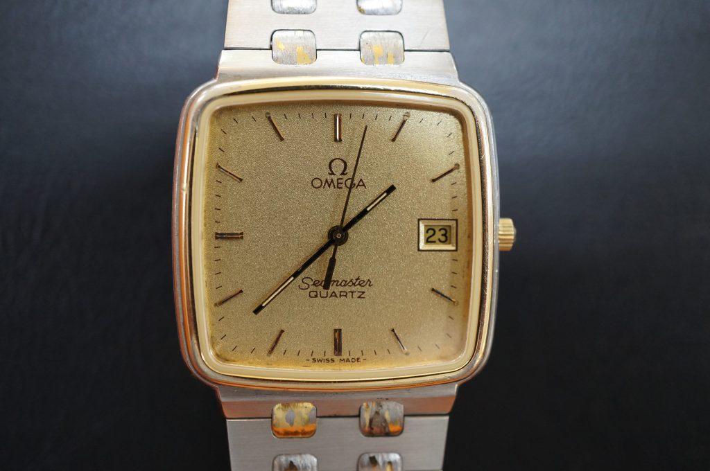 No.800  OMEGA (オメガ) クォーツ腕時計を修理しました