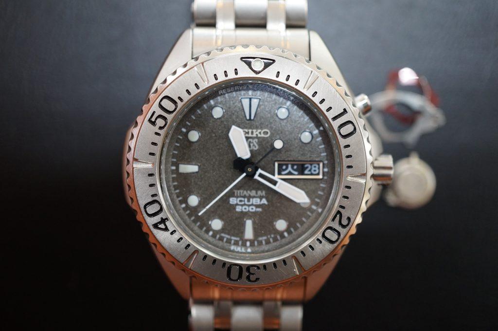 No.782  SEIKO   (セイコー) AGS 腕時計を修理しました
