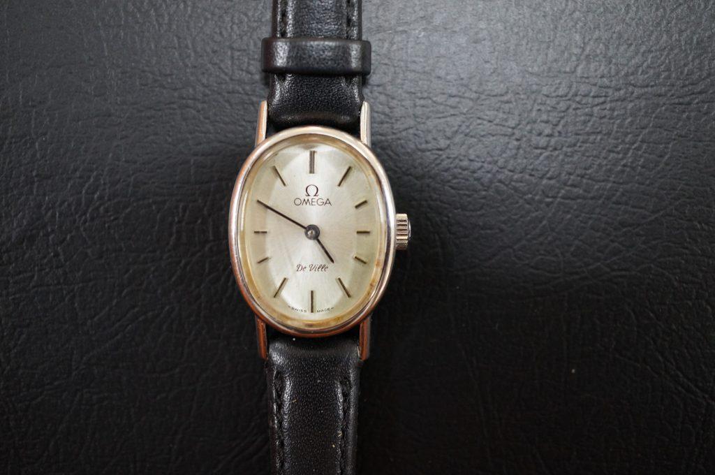 No.809  OMEGA  (オメガ) アンティーク 手巻き腕時計を修理しました