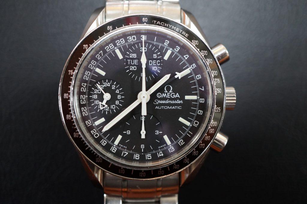 No.806  OMEGA Speedmaster (オメガスピードマスター) 自動巻き腕時計を修理しました
