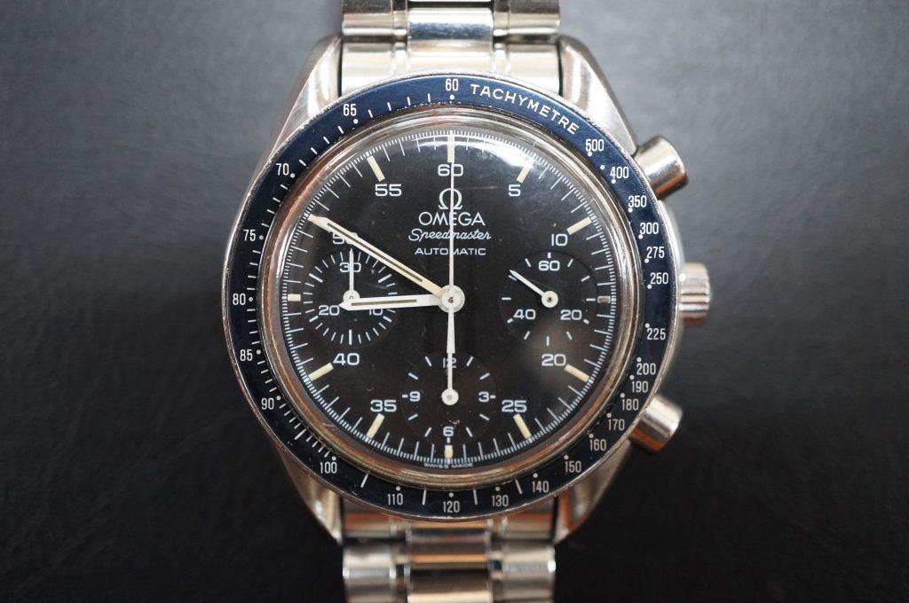 No.805  OMEGA Speedmaster (オメガスピードマスター) 自動巻き腕時計を修理しました