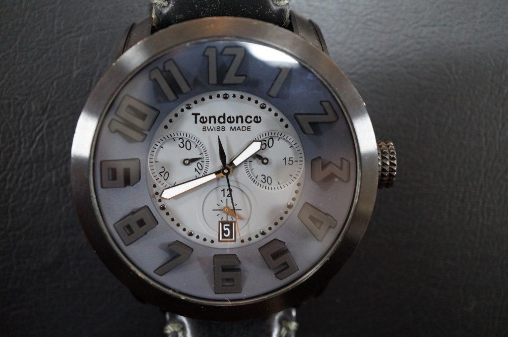 No.808  Tendence (テンデンス) クォーツ腕時計を修理しました