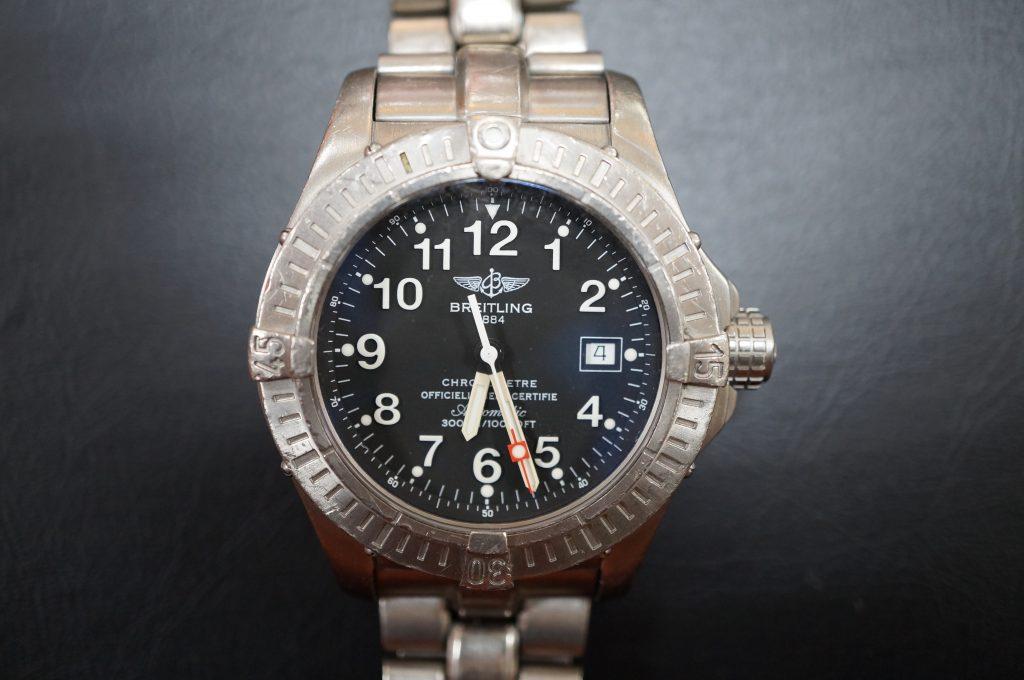 No.807  BREITLING (ブライトリング) 自動巻き腕時計を修理しました