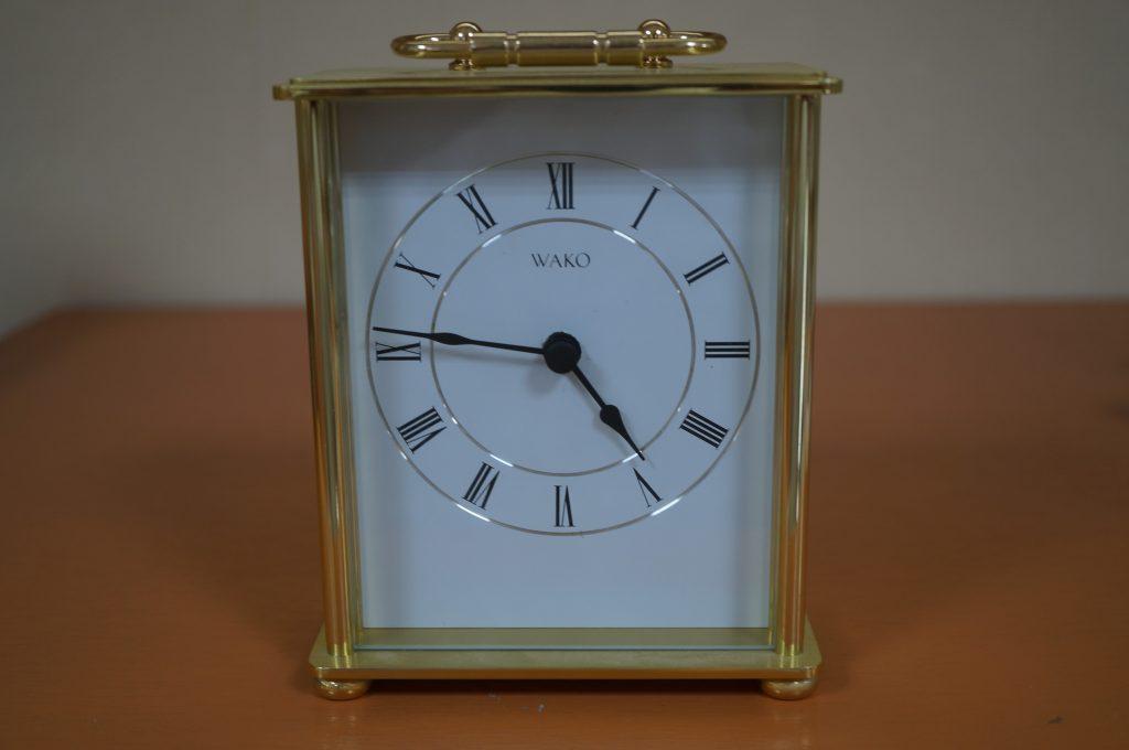 No.814  WAKOオリジナル 置時計を修理しました