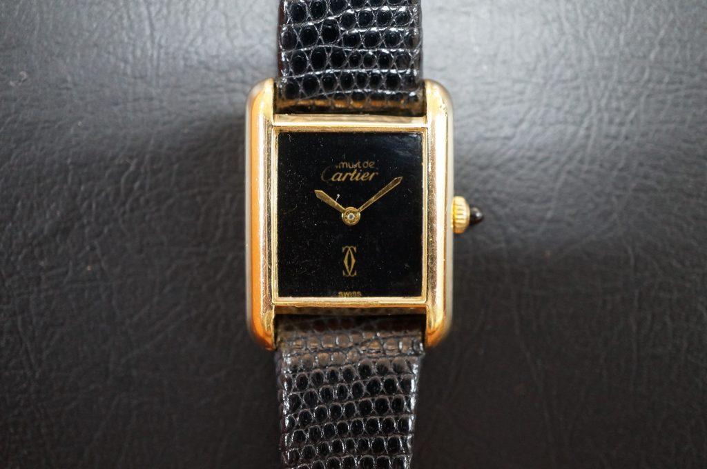 No.812  CARTER (カルティエ ) 自動巻き腕時計を修理しました