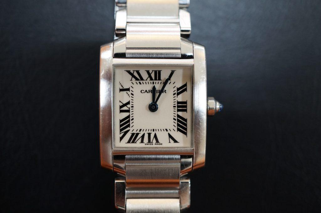 No.811  CARTER (カルティエ ) 自動巻き腕時計を修理しました