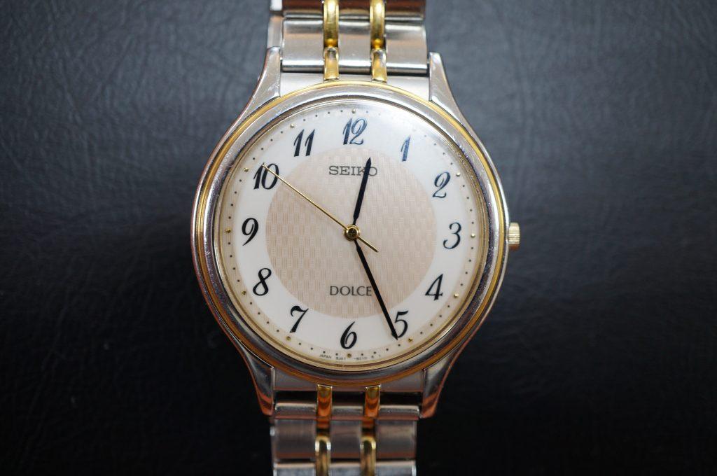 No.816  SEIKO DOLCE (セイコードルチェ) クォーツ腕時計を修理しました