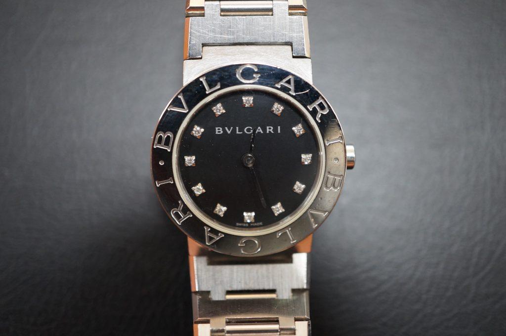 No.815  BVLGARI (ブルガリ) クォーツ腕時計を修理しました