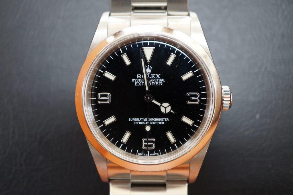 No.827  ROLEX (ロレックス エクスクローラ1) 自動巻き腕時計を修理しました