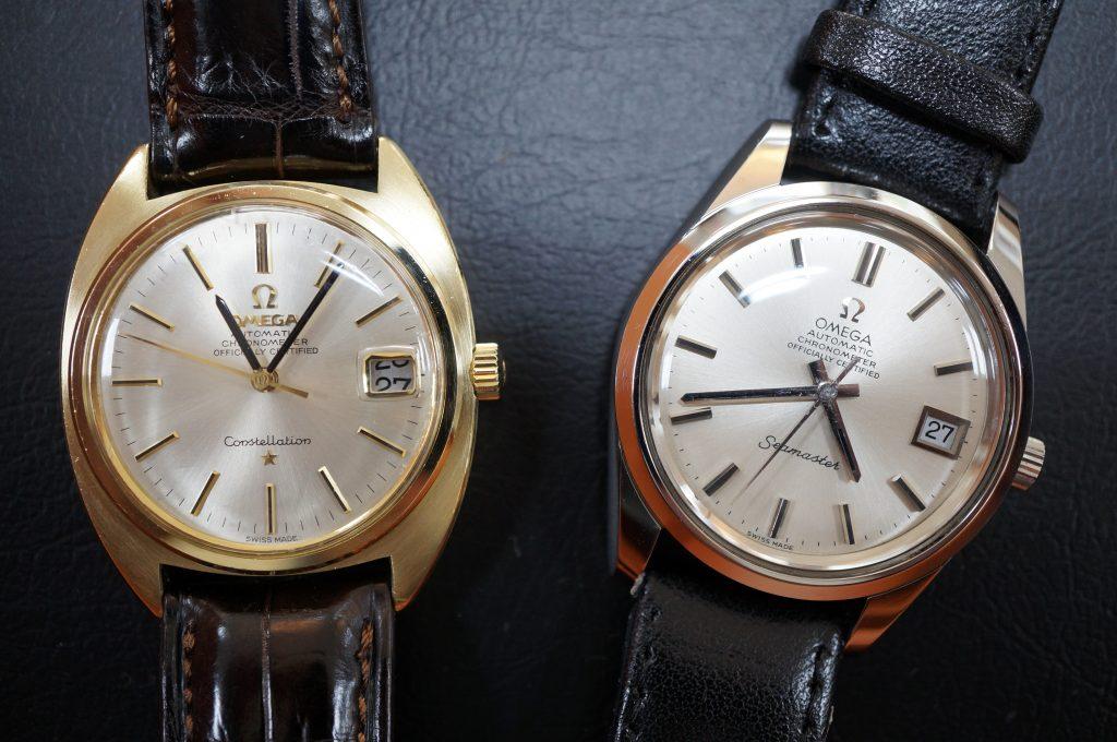 No.826  OMEGA  (オメガ) コンスティレーション 手巻き腕時計を修理しました
