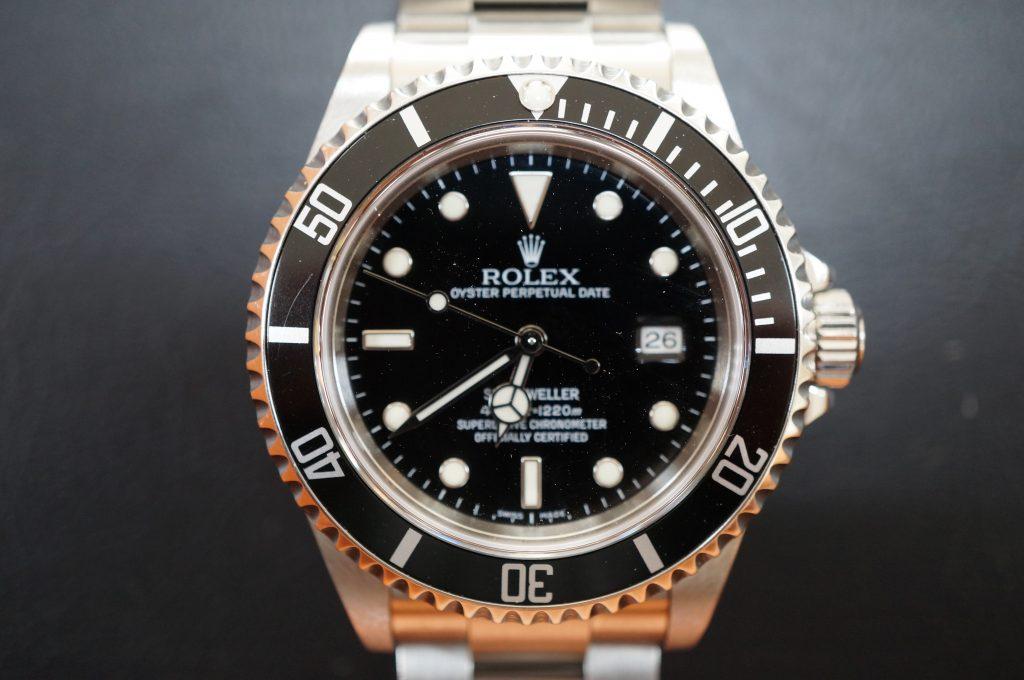 No.825  ROLEX (ロレックス  シードウェラー) 自動巻き腕時計を修理しました