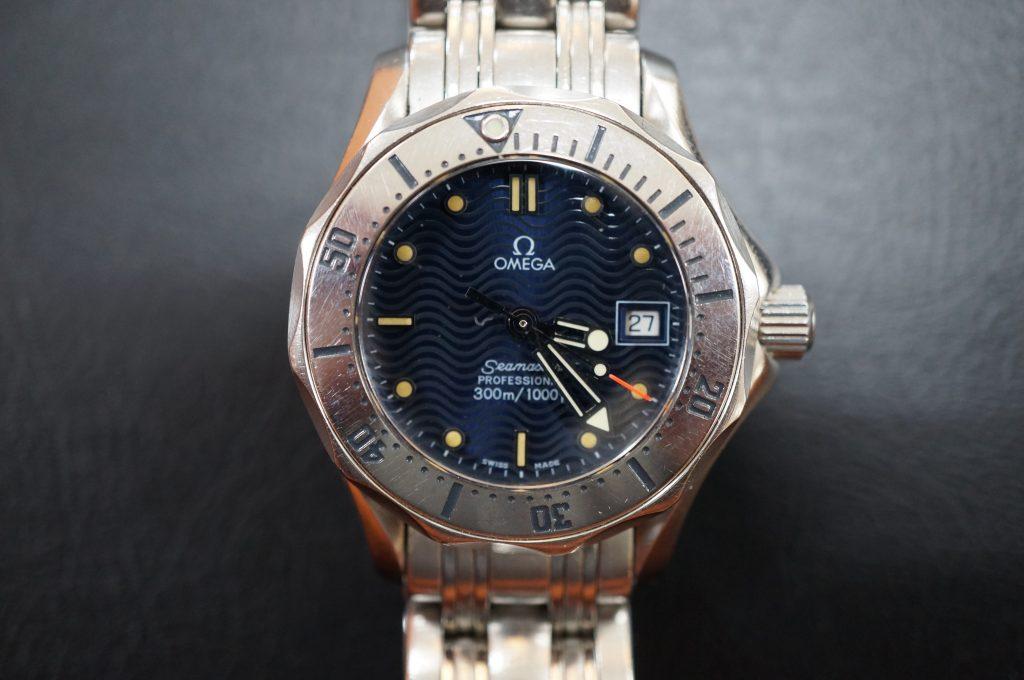 No.823  OMEGA Seamaster (シーマスター) 自動巻き腕時計を修理しました