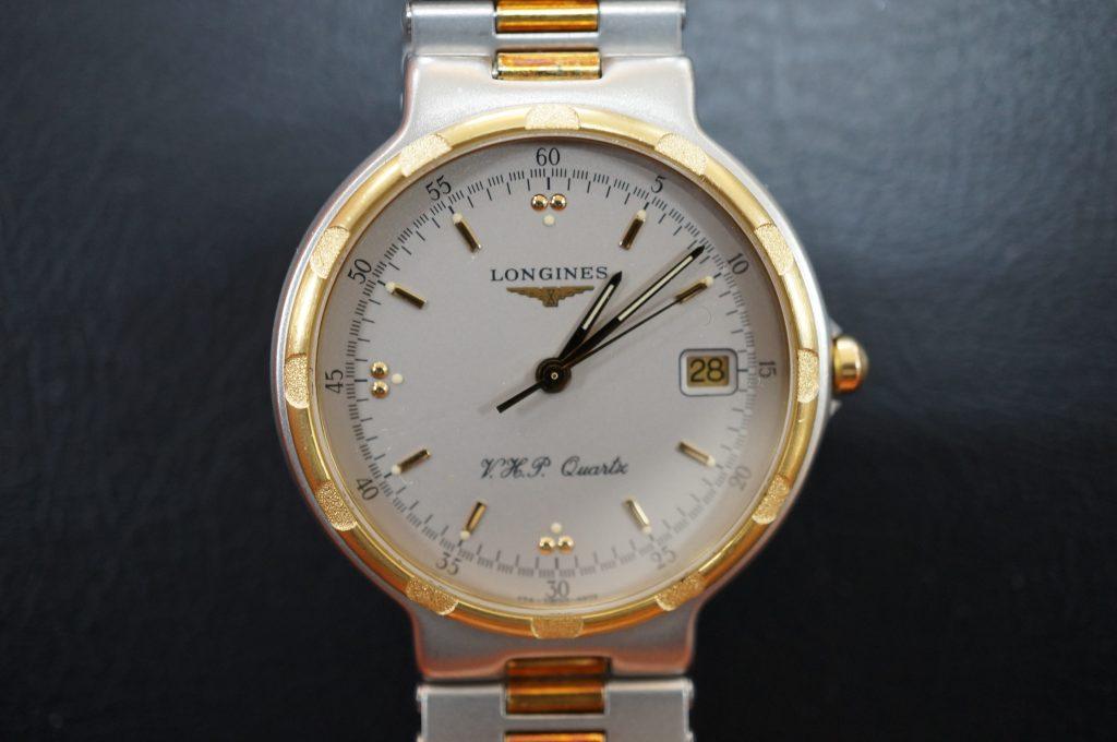 No.822  LONGINES  V.H.P (ロンジン) クォーツ腕時計を修理しました