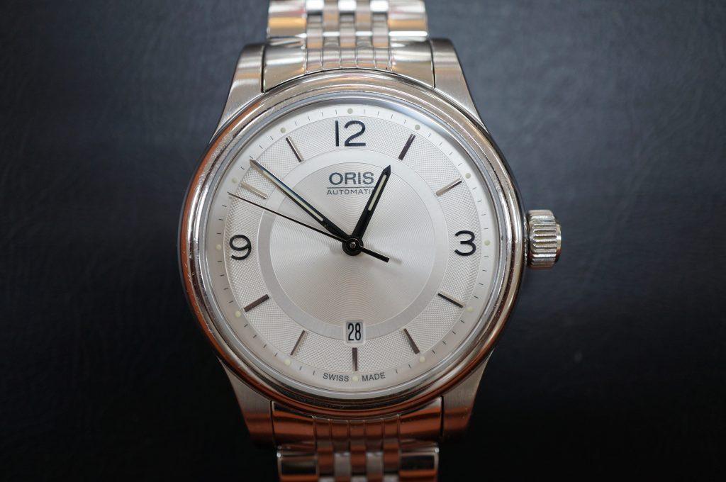 No.821  ORIS (オリス) 自動巻き腕時計を修理しました
