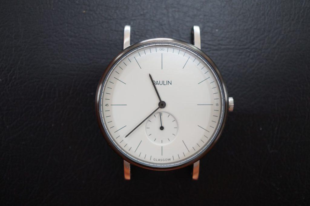 No.833  PAULIN  クォーツ腕時計を修理しました