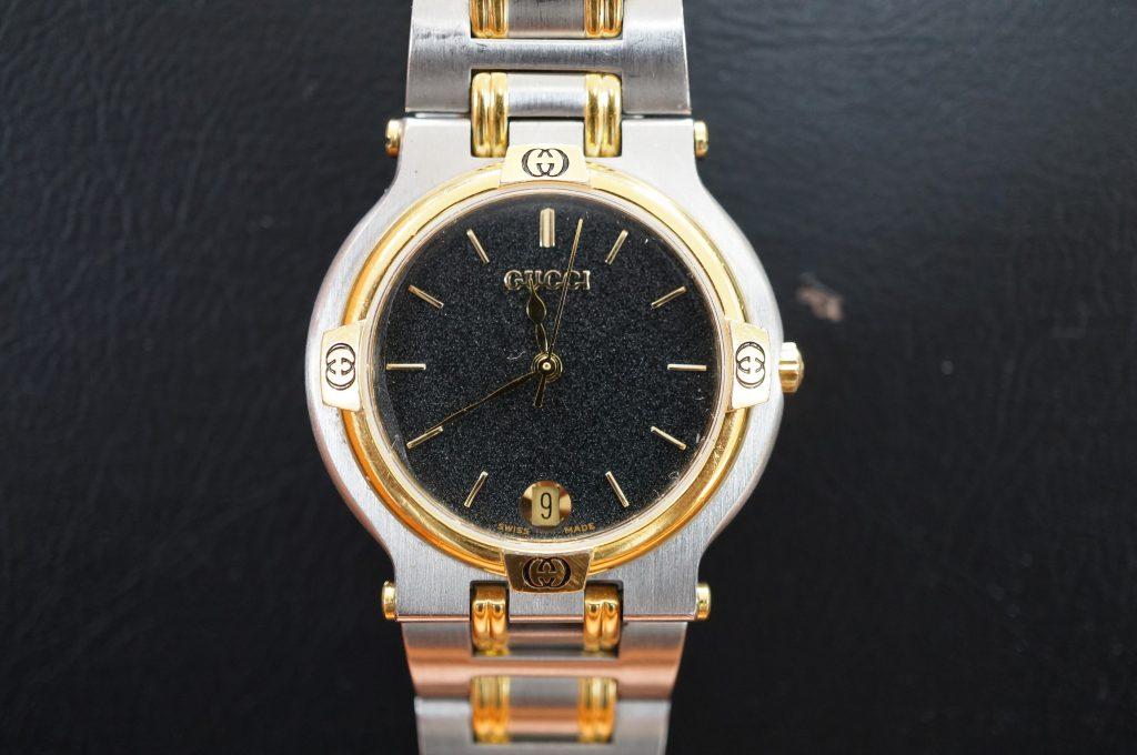 No.832  GUCCI (グッチ) クォーツ腕時計を修理しました