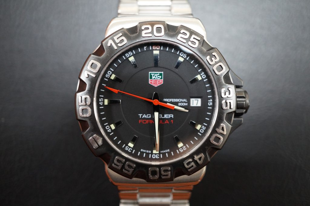No.840  TAG HEUER (タグホイヤー) クォーツ腕時計を修理しました