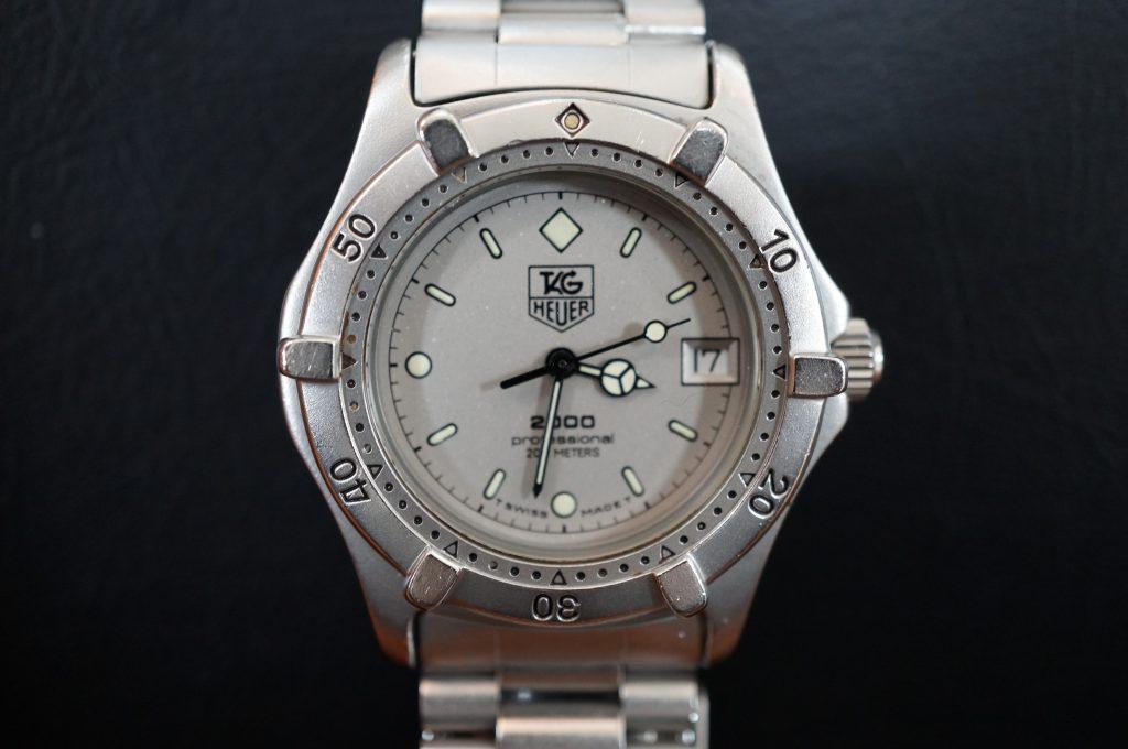 No.841  TAG HEUER (タグホイヤー) クォーツ腕時計を修理しました