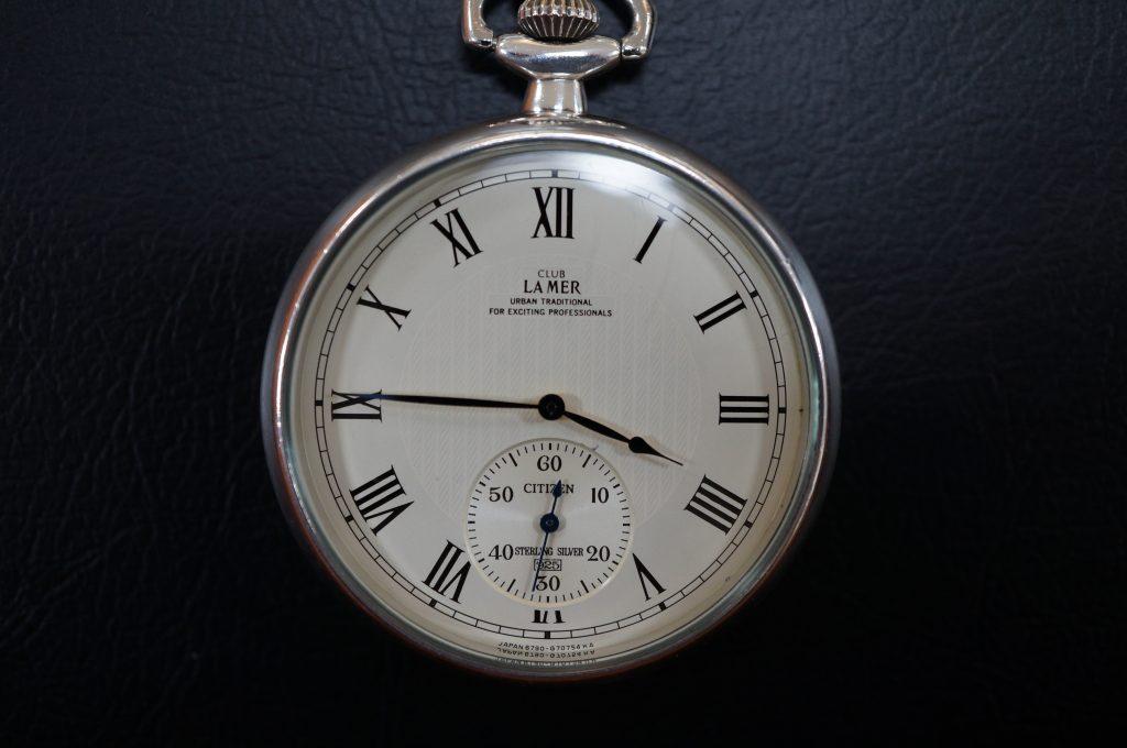 No.842  CITIZEN LAMER (シチズン ライマー) クォーツ懐中時計を修理しました