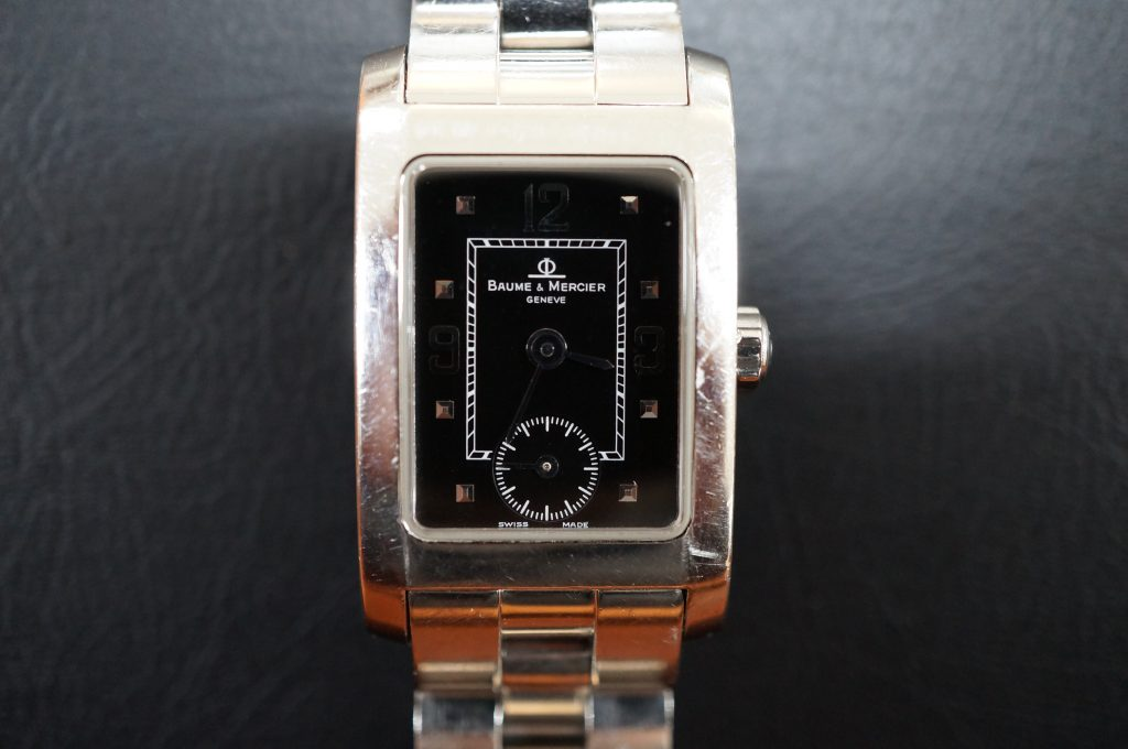 No.835  BAUME & MERCIER  (ボームアンドメルシエ) クォーツ腕時計を修理しました