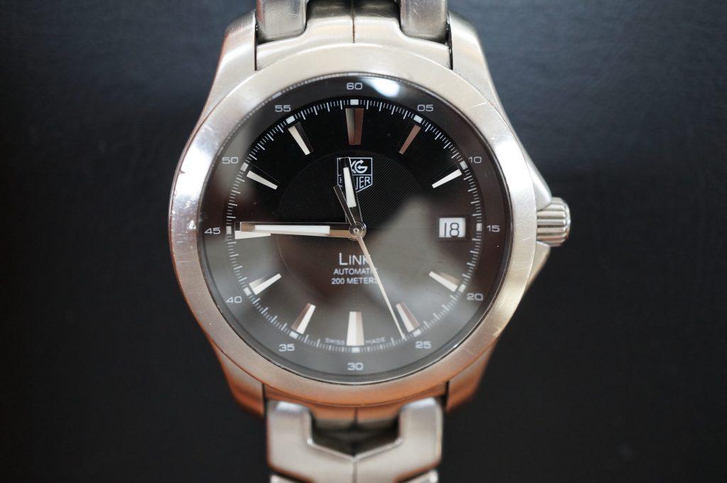 No.850  TAG HEUER (タグホイヤー) クォーツ腕時計を修理しました