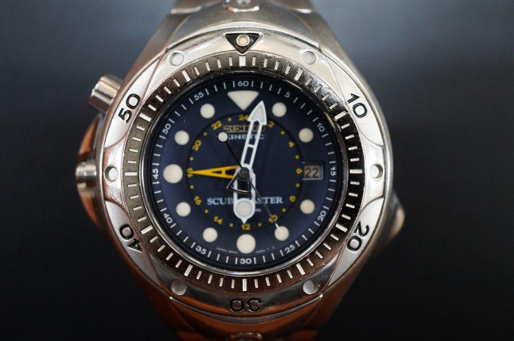 No.849  SEIKO KINETIC  (キネティック)  腕時計を修理しました