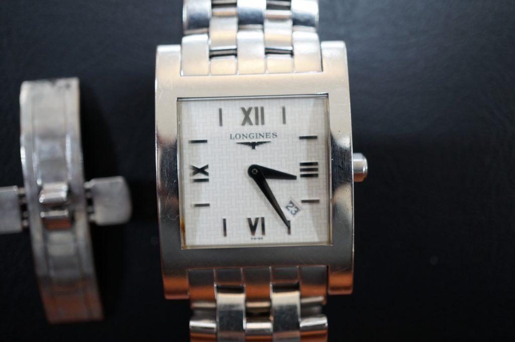 No.847  LONGINES (ロンジン) クォーツ腕時計を修理しました