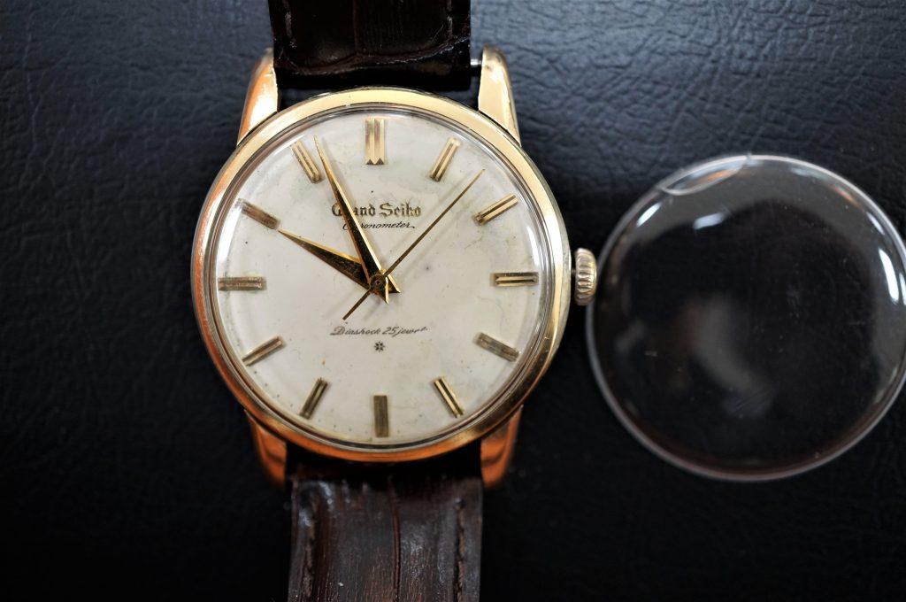 No.845  SEIKO GS  (グランドセイコー)  腕時計を修理しました