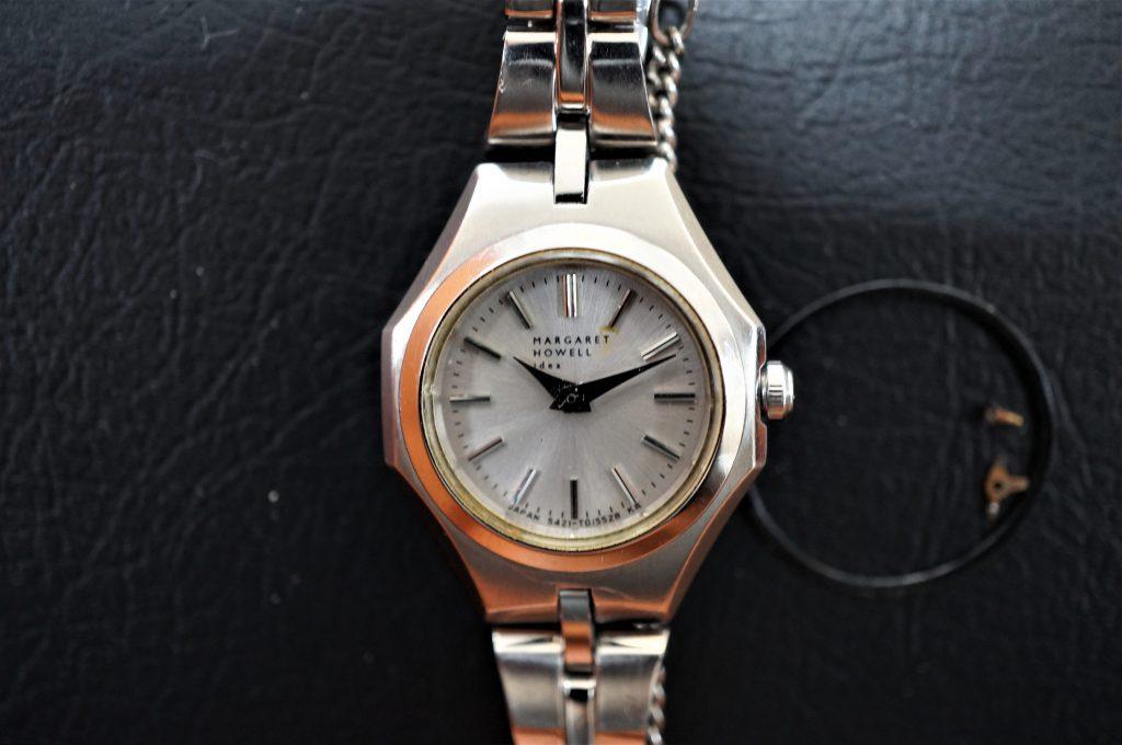 No.843  MAGARET (マーガレット) クォーツ 腕時計を修理しました