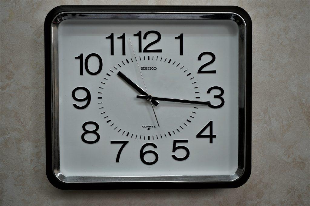 No.846  SEIKO(セイコー) 掛け時計を修理しました